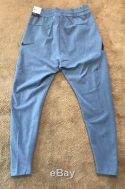 $110 Nike Men's Sportswear Tech Pack Knit Pants Joggers AR1550-471 Blue SZ- S