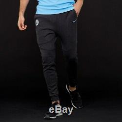 $115 Nike Manchester City FC TECH FLEECE Joggers Sweatpants Men's Medium AA1937