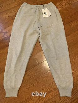 $300 Nike Lab Sweats Jogger Pants Mens Size Medium Made in Italy Tech Grey Rare