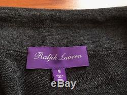 $395 NWT PURPLE LABEL RALPH LAUREN Mens Gray Casual Jogger Sweatpants Size M