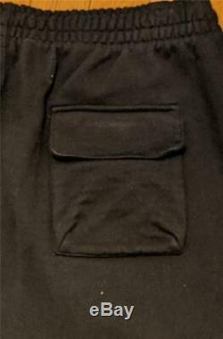$650 Mens Authentic Off-White Virgil Abloh Mariana Joggers Sweatpants Black XL