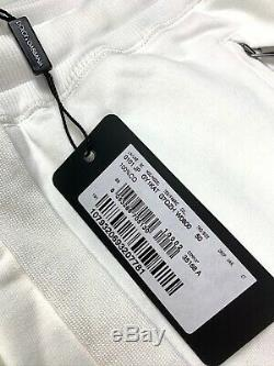 65% OFF SALE Dolce & Gabbana White Joggers Pants
