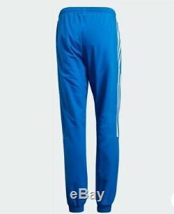ADIDAS Originals Track Pants Lock Up Woven TP Bluebird Trefoil Men M L 2XL NWT