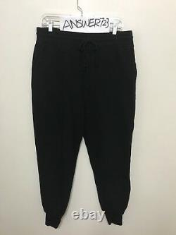 AMI Alexandre Mattiussi Black Fleece Sweatpants Lounge Pants Casual Jogger