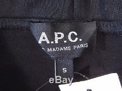 A. P. C Apc Rue Madame Paris Black Small Jog Jogger Sweat Pants Mens Nwt New