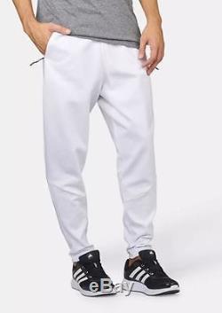 Adidas Men's Z. N. E. Jogger Pants White AZ3007 a