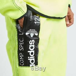 Adidas by Alexander Wang CW3558 neon yellow Athletic Jogger Pants. NEW WITH TAGS