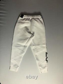 Air Jordan 23 Engineered Fleece Pants White Silver CD6060-100 Mens Size Large