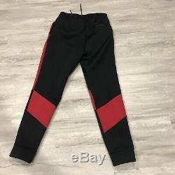 Air Jordan Flight Tech Fleece Pants Men's Sz XXLT 879499-013 Suit Red Jogger