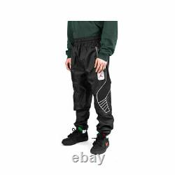 Air Jordan Legacy AJ5 Woven Pants Size Medium Black Gray Red Jogger CU1670-010