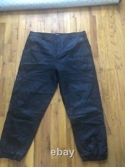 Alexander wang leather Jogger pants Tag Sz XL