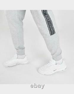 Armani Emporio Mens EA7 Logo Tape Jogger Pants 3HPP61-904 Grey-Size XXL