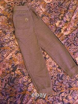 Auth MONCLER Unisex Grey Jogger Pants