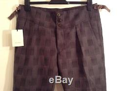 BNWT 100% Auth Paul Smith, Men's Joggers Style Cuffed Trousers. 32 RRP £289