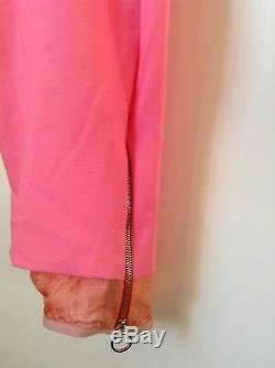 BNWT 100% Auth Paul Smith, Men's Pink Joggers Style Cuffed Trousers. 30 RRP £360