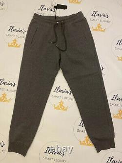 BNWT Men's Grey Tracksuit Jogging Bottom Versace Authentic XXL