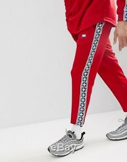 Bnwt Tn Just Do It Block Red Taped Poly Nike Air Max Pants Bottoms Joggers Men