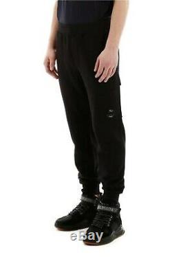 CP Company Lens Sweatpant Joggers Black Men's Size M Cotton Jersey Pant Trousers