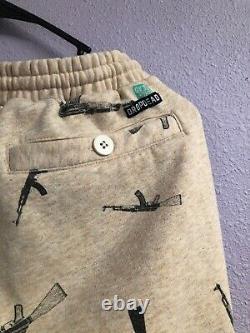 DROP DEAD AK-47 Joggers Size Mens Small DROP DEAD CLOTHING