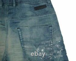 Diesel Krooley Stretch Jogg Jeans Sweat Denim Jogger Repaired Pants Sweatpants