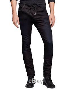 Diesel Men's Joggers Jeans Sweat Pants Slim Fit Black Krooley 0670M size 38