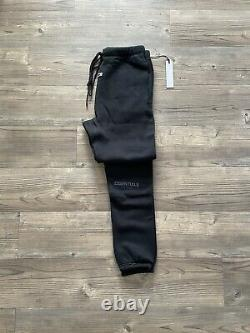 Fear Of God Essentials Jersey Joggers Black Size M