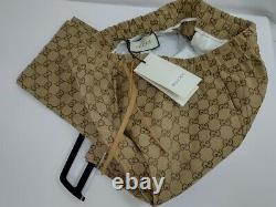 GUCCI GG Canvas Jogging Pant SIZE 48 EUROPE, SIZE 32 US NEW WITH TAGS