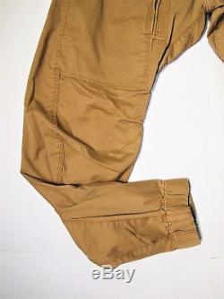 G Star Raw men's size 33x30 3D tapered pants jogger khaki