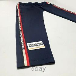 Genuine Moncler Mens Tracksuit Bottoms Pants Size XL L Navy Blue Pantalone
