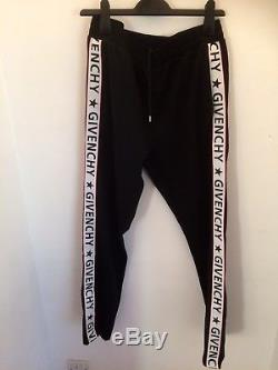 Givenchy Men Womens Unisex Jersey Track Sweat Tracksuit Trousers Joggers Logo