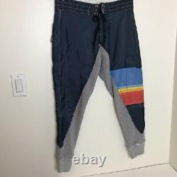 Greg Lauren x Birdwell New $1,250 50/50 Joggers Pants 1