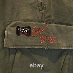 Greg Lauren x Paul & Shark New 50/50 Cargo Joggers Pants 36