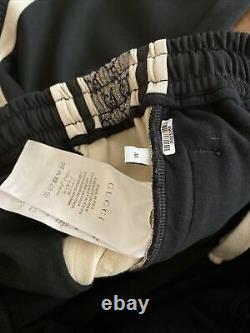Gucci Oversize technical jersey jogging pant Black Medium Mens