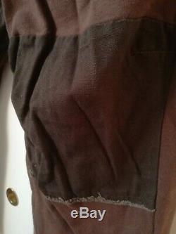 HAIDER ACKERMANN Jogger Sweatpants Braun Size M NWT Detailed Fabrix Mix