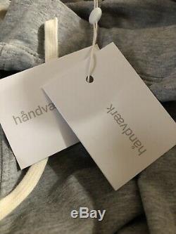 HANDVAERK Flex Tapered Loopback Pima Cotton Jersey Sweatpants 2XL XXL $164.00
