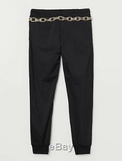 HM Moschino Joggers with Applique Size M