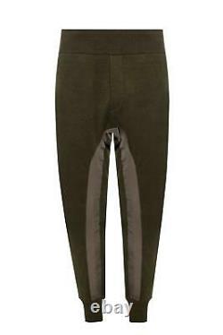 Haider Ackermann Khaki Knit Linen Joggers Size S, Fits W29 to W31 SS19