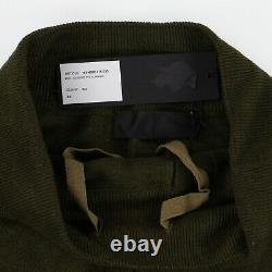 Haider Ackermann Khaki Knit Linen Joggers Size XS, Fits W27 to W29 SS19