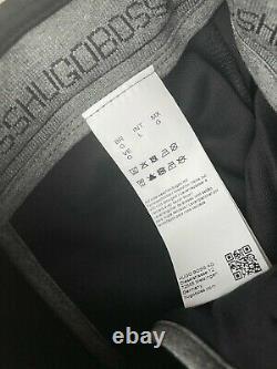 Hugo Boss Black Hadiko Slim Fit Joggers Pants Sweatpants Large New & Tags