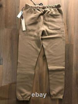 IN HAND Fear Of God Essentials Sweatpants Joggers Taupe FW20 Sizes Xs S M