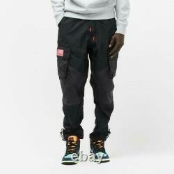 Jordan 23 Engineered Cargo Trousers Black Men's Size L Joggers Pants CK9167-010