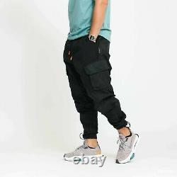 Jordan 23 Engineered Cargo Trousers Black Men's Size M Joggers Pants CK9167-010