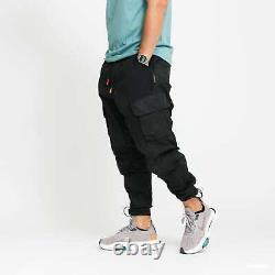 Jordan 23 Engineered Cargo Trousers Black Men's Size XL Joggers Pants CK9167-010