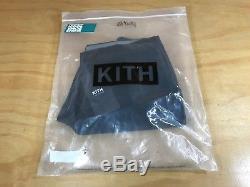 Kith Nyc Mercer Logo Jogger Pant Classic Black Mens Waist 32 Inseam 28 Kh600-086