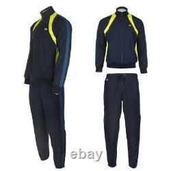 Lacoste Men's Color Blocked Tracksuit Jacket and Pants Set