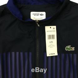 Lacoste Sport Men's NWT Navy Soda Yell 2-PC Jogger Jacket Pants Set XL MSRP $250