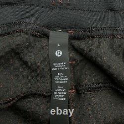 Lululemon At Ease Jogger Heathered Dark Terracotta/Black Large $128