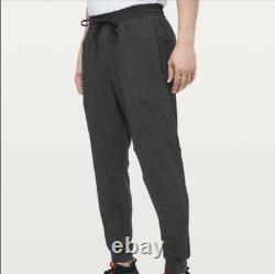 Lululemon At Ease Jogger Pants Men's M Medium BLACK ABC Surge City Sweat Sweats