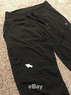 Lululemon Athletics Mens Medium Black ABC Polyester Track Pants / Joggers