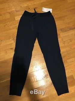 Lululemon Men M ABC Jogger Navy Blue Warpstreme 29 Pants Joggers NWT New Medium
